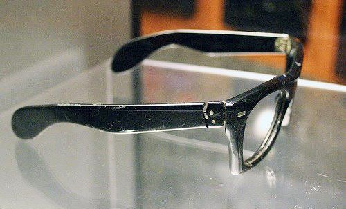 fc59a5e1aa Mens Vine Zyloware Eyegles 1950s 1960s Frame France Esquivel. Faosa Eyewear  Jose Esquivel Buddy Holly Eyegles Archives
